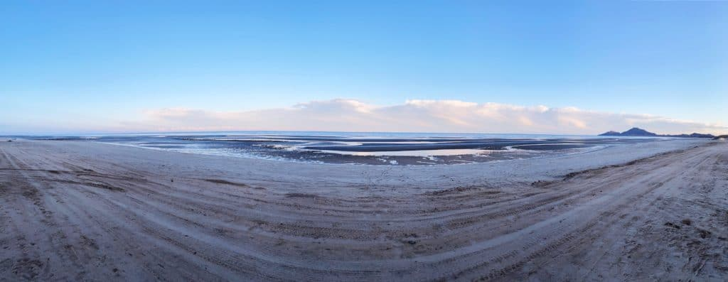 pano of low tide